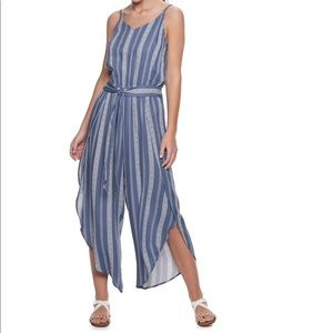 American Rag Wrap Jumpsuit Size Small